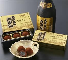 焼酎チョコ《久米島の久米仙》 5個入