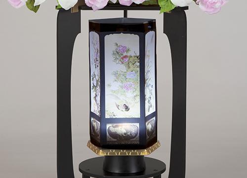 籠盛り 花鳥風月燈籠