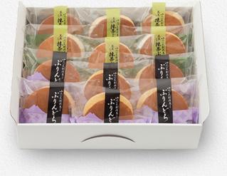 ゆふいん創作菓子ぷりんどら詰め合わせ12個入《冷凍発送》
